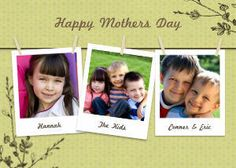 Mixbook Hanging Poloroid  Mother's Day Cards