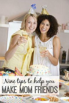 Whether you're looking for someone to exchange BFF necklaces with, or just need a friend to grab a coffee with every now and then, these 9 tips will help give you the kick start you need to make mom friends!