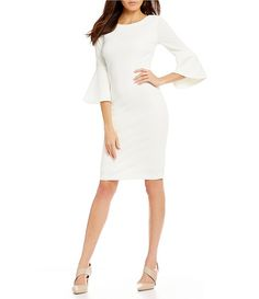 Shop for Calvin Klein Bell Sleeve Sheath Dress at Dillards.com. Visit Dillards.com to find clothing, accessories, shoes, cosmetics & more. The Style of Your Life.