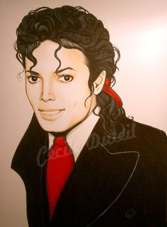Michael Jackson - Handsome by CecileD73 on deviantART