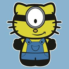Hello kitty minion