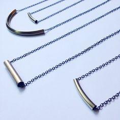 keepin' it simple brass tube & chain  #oveco #otravez #otravezecotique #ov_eco