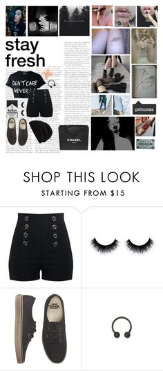 """Lillianna #2"" by briannar4582 ❤ liked on Polyvore featuring Chanel, Vans and Rick Owens"