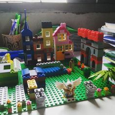 The town is bigger and bigger :)) #lego