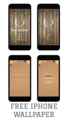 Free iPhone backgrounds, wallpaper, deer, rustic, thankful, november