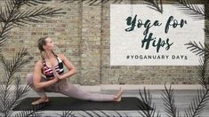 30 Minutes:  DAY 5: YOGA FOR HIPS | Yoganuary Yoga Challenge | CAT MEFFAN
