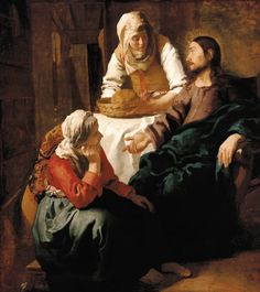 Jan Vermeer van Delft - Christ in the House of Mary and Martha