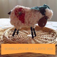 * Jengibre * - Borreguito de la suerte o abundancia - sheep
