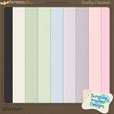 This colorful digital cardstock pack is a part of December Honey Pot at Scrappy Bee. {Winter} cardstock pack includes 9 12 x 12, 300dpi solid color digital papers perfect for any kind of digital scrapbooking layouts and other digital projects.