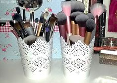 My mum spotted these SKURAR candle holders during a recent trip to Ikea and I cannot thank her enough for doing so, because they turned out to be great makeup brush holders! And the best thing of a...