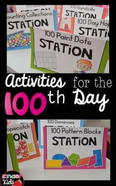 Easy and Fun Activities to Celebrate the 100th Day of School