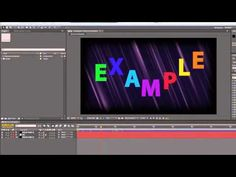 ▶ AE Basics 62: Export 8 - Understanding Pre-render - YouTube After Effects, Photoshop Tutorial, Adobe, Goodies, Easter, Tutorials, Lighting, Youtube, Photography