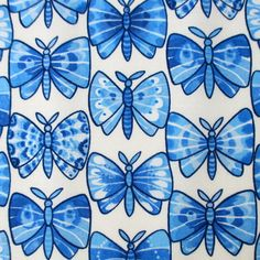 Fabric Luminaria Butterfly Julie Paschkis by BluePacificFabrics