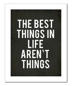 The Best Things//