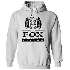 TO1104 Team FOX Lifetime Member Legend T-Shirts, Hoodies (37.99$ ==► Order Here!)
