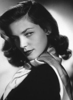 Lauren Bacall, Venus In Virgo - Time for all of us intellectual types to get our pretty on!