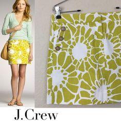 Price firm J crew cotton skirt J crew cotton sunburst skirt size 4 worn once looks new $80 price firm J. Crew Skirts Mini