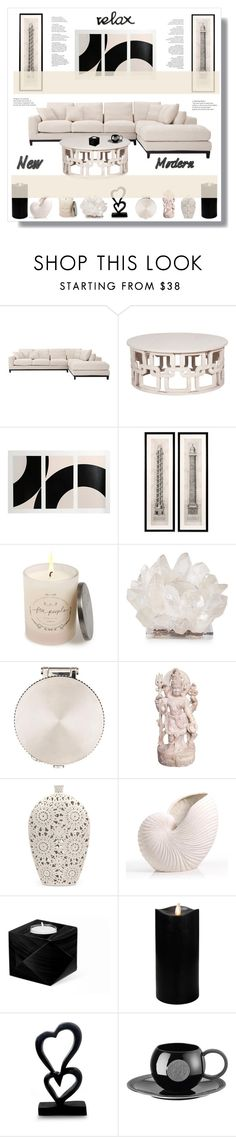 """""""Modern"""" by stranjakivana ❤ liked on Polyvore featuring interior, interiors, interior design, home, home decor, interior decorating, Eichholtz, Free People, Kathryn McCoy Design and Cartier"""