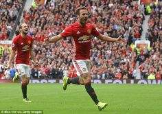 Juan Mata scored an excellent goal for Manchester United against Leicester on Saturday...
