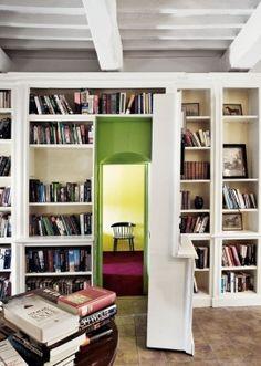 Secret bookcase room