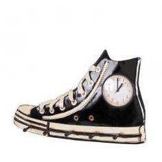 Suche Sneaker garderobe uhr schwarz ruvenz. Ansichten 141821.