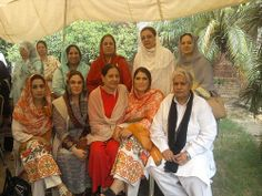 Rubina Sulehri SVP PMLQ. Rubina Sulehri SVP PMLQ group photo with other party members during election 2013.