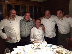 Sibaris Catering visita El Hogar Gallego