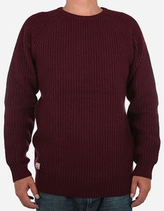 RVLT Revolution - Knit Pullover 6284 bordeaux