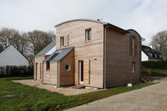 Matériaux naturels et habitat sain pour une maison RT 2012 - Journal du Design