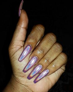 Holographic nails                                                       …