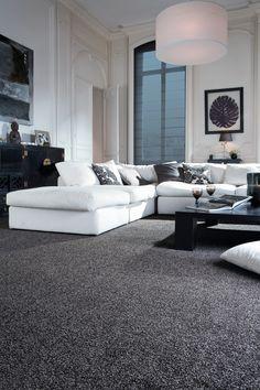 Dark Grey Carpet More Black Living Room Bedroom Colors