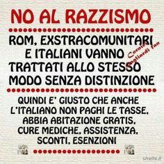 NO AL RAZZISMO (VERSO L ITALIANO) - Marco Matarazzo - Google+