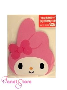 janetstore.com: kawaii stationery,letter sets, stickers, gifts and more - Kamio Sanrio My Melody stickers sack 70pcs 64313 4991277643136