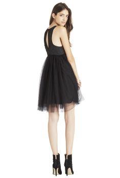 BCBGeneration Tulle Skirt Dress