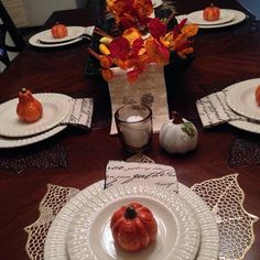 Fall Tablescape 2013