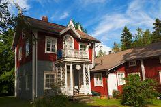 Villa Sveden. Ostrobothnia province of Western Finland.- Pietarsaari, Pohjanmaa - Österbotten