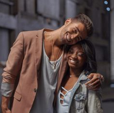 """Simone Biles is attacked with insults and racial slurs after starring in Jake Miller's """"Overnight"""" music video. Get the scoop. Interacial Love, Interacial Couples, Cute Relationship Goals, Cute Relationships, Cute Couples Goals, Couple Goals, Interracial Art, Biracial Couples, Mixed Couples"""