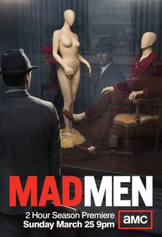 Mad Men Season 5 Premire Poster - Just released!
