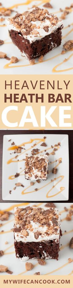 This Heavenly Heath Bar Cake is one recipe that that's get our whole house excited. It's one of our favorite desserts and certainly upon the most requested birthday cakes in our house. Caramel-infused Chocolate Devils Food Cake topped with cool whip and heath bar crumble. That's a recipe for success. It's also super easy which parents alwasy appreciate since there's plenty to do come kid birthday time. We definitely suggest you give this cake a try the next time you celebrate a birthday. Or…