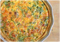 quiche s bylinkami Quiche Lorraine, Gouda, Menu, Breakfast, Recipes, Menu Board Design, Breakfast Cafe, Rezepte, Recipe