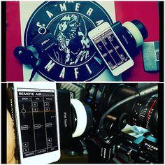 @thecameramafia using the PD Movie Remote Air Follow Focus! :star::star::star: #setlife #filmlife #production #gear #ikan #equipment #filmmaking #followfocus #pdmovie