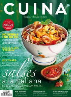 Revista #CUINA 171. #Salses a la italiana. El secret de la millor #pasta.