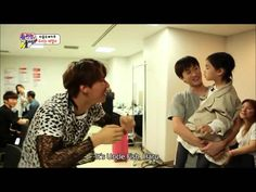 [SUBBED] [CUT] [PART1] Haru meets YG FAMILY on Superman Is Back Ep28