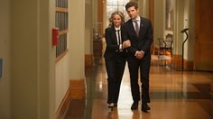 """The show's very last episode is its highest rated at """"One Last Ride: Part is right behind with a Best Series, Best Tv Shows, Movies And Tv Shows, Tv Series, Parks And Recreation, Leslie And Ben, Parks And Recs, Rashida Jones, Leslie Knope"""