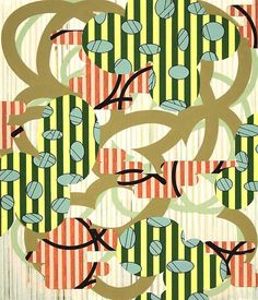 Charles Burwell   Intricate Patterns and Clashing Shapes | inspiration