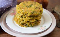Sabudana Thalipeeth Recipe is a delicious Maharashtrian Gluten Free flatbread that is made from tapioca pearls.