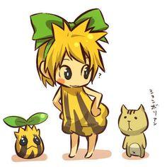 Pokemon as people. Cute!