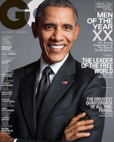 president barack obama GQ Cover 2015