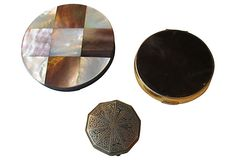 Compacts, Set of 3 on OneKingsLane.com from Maxwell's 9.13.34.  Sold!