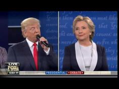 IT'S A THRASHING! Trump at Debate: Hillary You Are No Abraham Lincoln. You are a Liar (VIDEO)